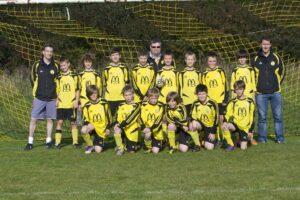 Witney U12s get promoted.